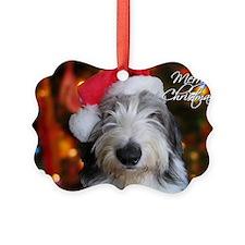 roofus_santa_card Ornament