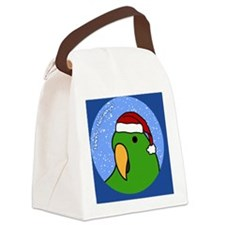 eclectus_simale_ornament Canvas Lunch Bag