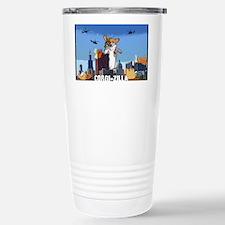 corgizilla Stainless Steel Travel Mug