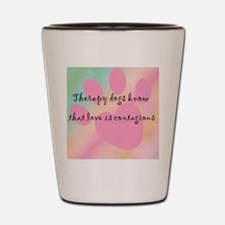 loveiscontagious_tile Shot Glass