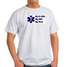 My Ex-Wife My EMT Ash Grey T-Shirt