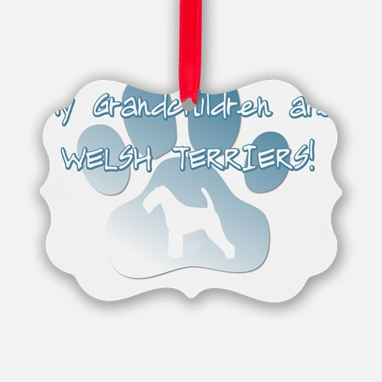 grandchildren_welshterriers Ornament