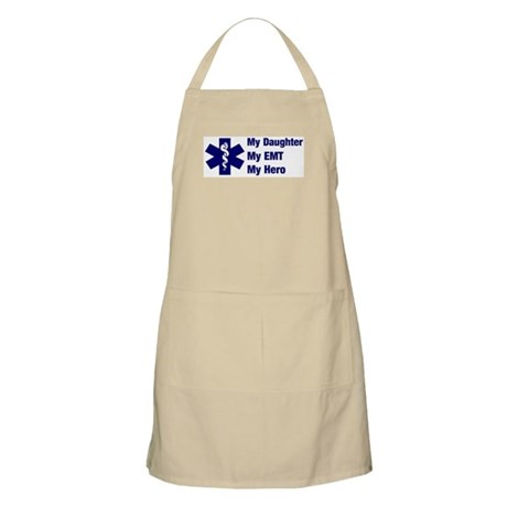 My Daughter My EMT BBQ Apron