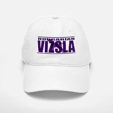 hidden_vizsla_purp Cap