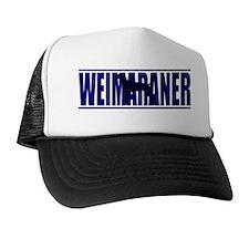 hidden_weimaraner Trucker Hat