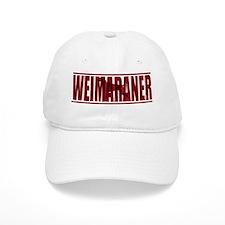 hidden_weimaraner_blue Baseball Cap