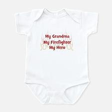 My Grandma My Firefighter Infant Bodysuit