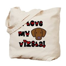 generic_lovevizsla_black Tote Bag
