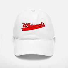 st_whippetsred_black Baseball Baseball Cap