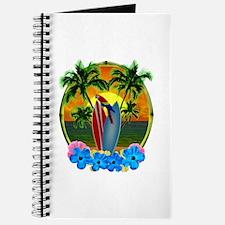 Island Sunset Parrot Journal
