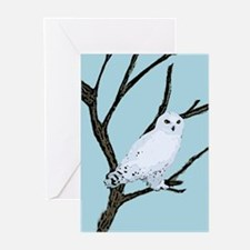 snowy owl Holiday Greeting Cards (Pk of 20)