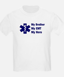 My Brother My EMT Kids T-Shirt