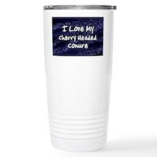 funklove_oval_cherryheaded Travel Mug