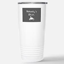 nobodysbitch_rectcarbon Stainless Steel Travel Mug