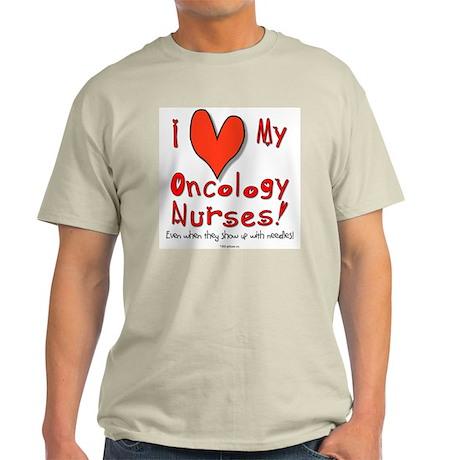 Love My Nurses Ash Grey T-Shirt