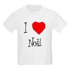 I Love Noel  Kids T-Shirt