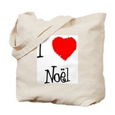 I Love Noel Tote Bag