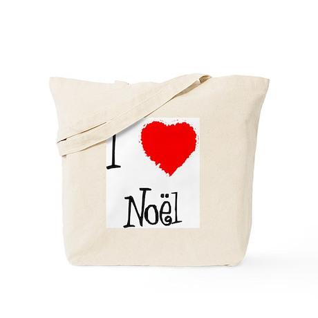 I Love Noel Tote Bag