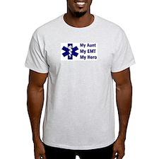 My Aunt My EMT Ash Grey T-Shirt