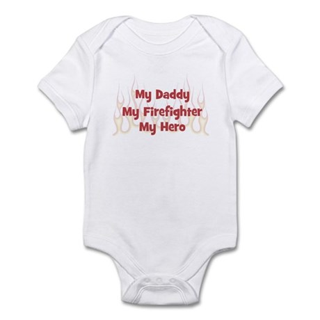 My Daddy My Firefighter Infant Bodysuit