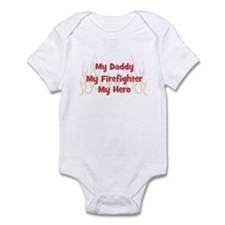 My Daddy My Firefighter Infant Bodysuit