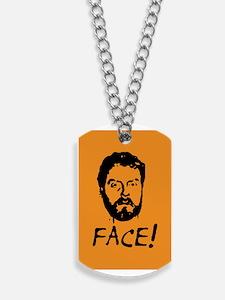 face Dog Tags