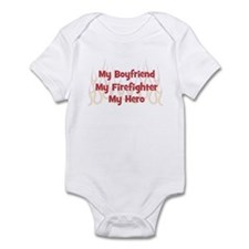My Boyfriend My Firefighter Infant Bodysuit