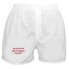 My Boyfriend My Firefighter Boxer Shorts