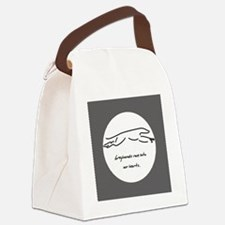 raceintoourhearts_rndmagnet Canvas Lunch Bag