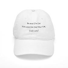 percussioninstructor_black Baseball Cap