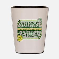 quinnsoatmeal_hat Shot Glass