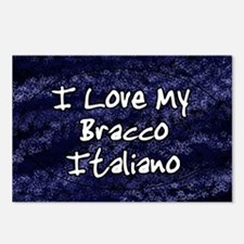 funklove_oval_bracco Postcards (Package of 8)