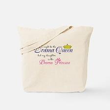 Drama Queen (Light) Tote Bag