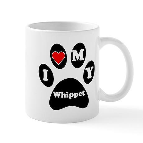 I Heart My Whippet Mug