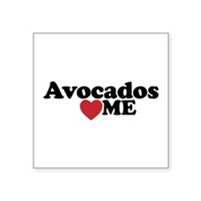 Avocados Love Me Sticker