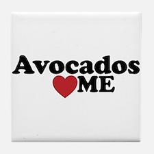 Avocados Love Me Tile Coaster