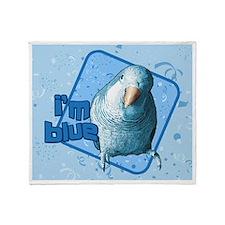 imblue_mousepad Throw Blanket