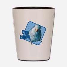 imblue_hat Shot Glass