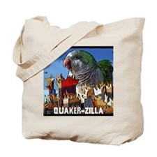 quakerzilla_mousepad Tote Bag