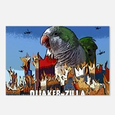 quakerzilla Postcards (Package of 8)