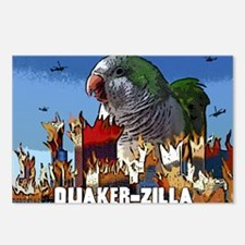 quakerzilla_poster Postcards (Package of 8)