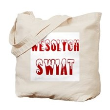 Polish - Wesolych Swiat Tote Bag