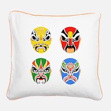 Peking Opera Hualian - Canvas Pillow