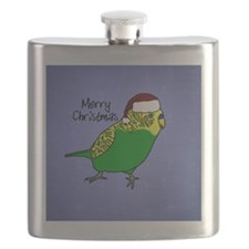 ornament_budgiegreen Flask