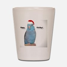 ornament_parrotlet Shot Glass