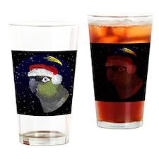 christmasnight_patagonianconure Drinking Glass
