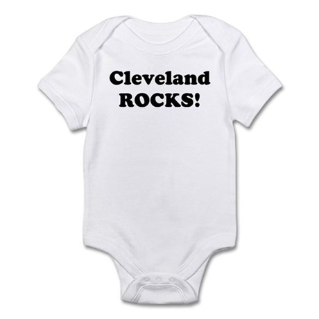 Cleveland Rocks! Infant Bodysuit
