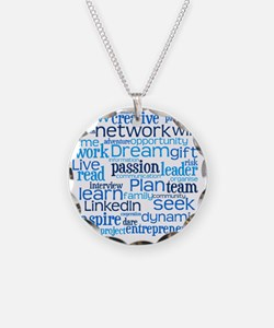 Career Cloud Necklace