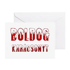 Boldog Karácsonyt Greeting Cards (Pk of 10)