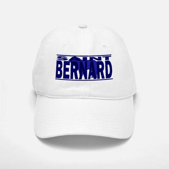 hidden_stbernard_black Baseball Baseball Cap
